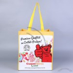 Recycled PET Laminated Grocery Tote Bag