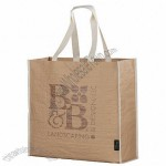 Recycled Paper Non-Woven Shopper Tote