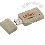 Recycled USB Flash Drives, 100% Recycled Paper & Plastic