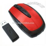 Red&Black Wireless Mouse