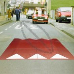 Red Cushion Speed Humps
