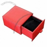 Red Drawer Watch Packaging