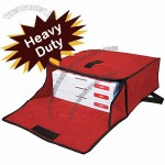 "Red Franchise Pizza Bag 19""W x 18""L x 8""H"