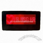 Red LED Name Badge