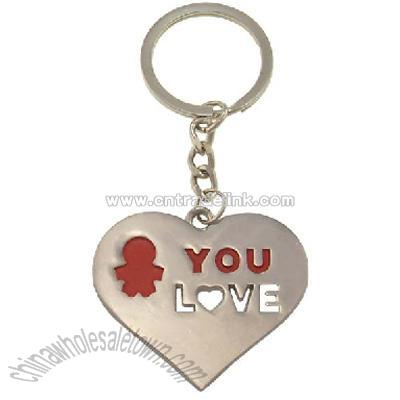 Product Name: Red Love Heart Key Chain Item No: 1167572865 U.Price: FOB