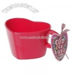 Red Love Heart Shape Cup