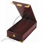 Red Paper Medal Coin Box