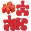 Red Puzzle Piece Stress Reliever