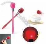 Red Rose Light Up Pen
