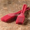 Red Silicone Brush - Set of 2