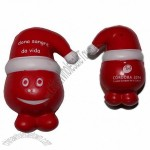 Red Snow man Stress Ball