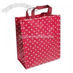 Red Spotty Reusable Shopper Bag
