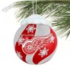 Red Wings Light Up Snow Globe Gnome Ornament