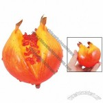 Red Yellow Foam Opening Pomegranate Manmade Fake Craft Fruits Ornament