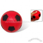 Red and Black Soft Squeeze Soccer like Kids Baby Play Foam Stress Sponge Ball