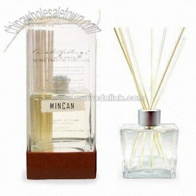 Reeds Fragrance Diffuser Set with Sophisticated Square Bottle