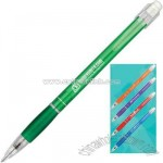 Refillable pencil with grip section