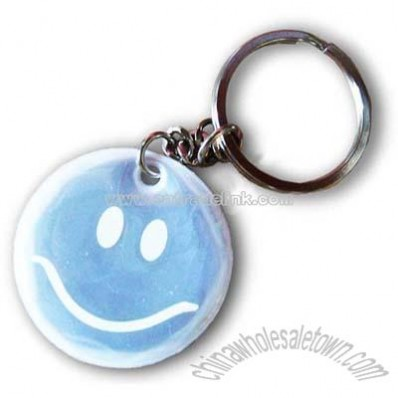 Reflective KeyChain Badge