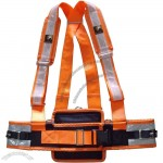 Reflective Miner Safety Harness