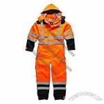 Reflective Safety Raincoat, High Visible Waterproof Safety Coverall