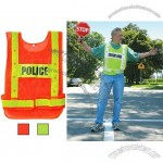Reflective Safety Vests with Flashing LED Lights