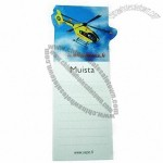 Refrigerator Magnetic Memo Book with 157gsm Art Paper Upper