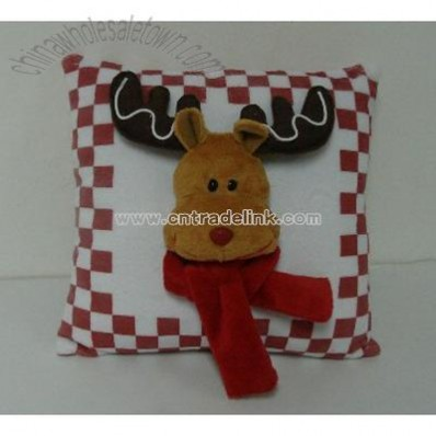 Reindeer Cushion for Christmas Promotion