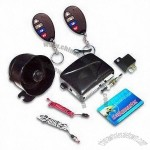 Remote Car Alarm System with Five-Wire Door Actuator Control