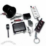 Remote Car Alarm System with Super Range Receiver and Two-Stage Shock Sensor