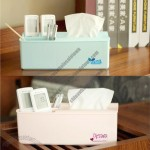 Removable Tissue Box and Debris Storage
