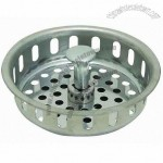 Replacement Adjustable Post Strainer Basket, Stainless Steel