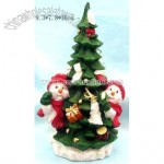 Resin Christmas Tree Figurine
