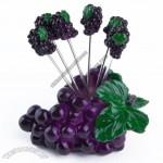 Resin Craft Grape Fruit Forks Set