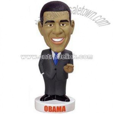Resin Obama Bobble Head Figures