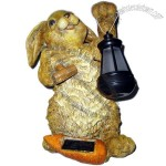 Resin Rabbit Solar Light