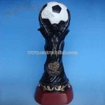 Resin World-Cup Trophy, Polyresin World Cup, World Up Trophy