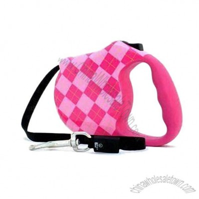 Retractable Dog Leash with Soft Comfortable Hand-shaped Grip