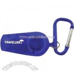 Retractable LED light with carabiner