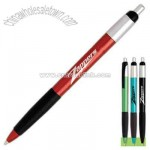 Retractable mechanism pen with comfortable black grip