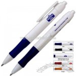 Retractable plastic ballpoint pen