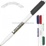 Retractable stick pen