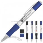 Retractable twist action ballpoint pen