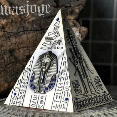 Retro Egyptian Pyramids Metal Piggy Bank