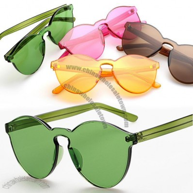 Retro trend of candy-colored Sunglasses