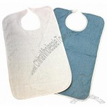 Reusable Washable Terry Cloth Adult Bib