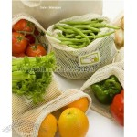 Reuseable Cotton Mesh Produce Bag