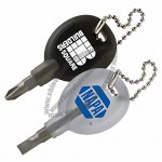 Reversible Screwdriver Key Chain