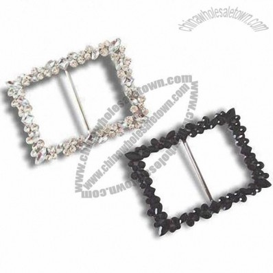 Rhinestone Apparel Buckles