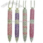 Rhinestone Pens with Twist Action