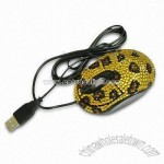 Rhinestones Optical Mouse